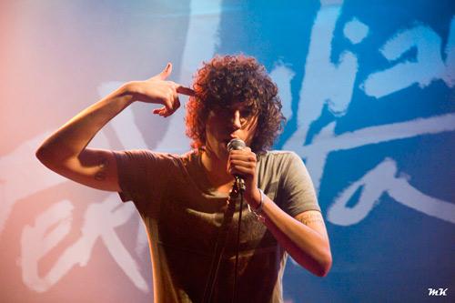Julian Perretta en concert