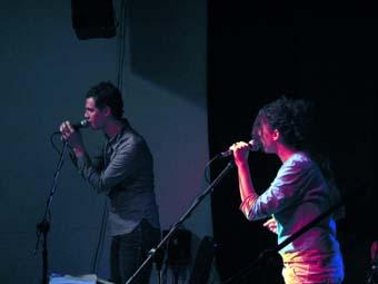 Jean Charles Versari & Brenda Kahn en concert