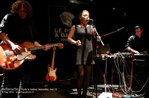 Belleruche en concert