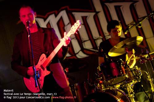 Malevil + Aimbass (festival Avec le Temps) en concert