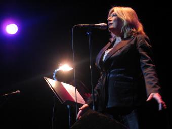 Marianne Faithfull + Fernando Saunders en concert