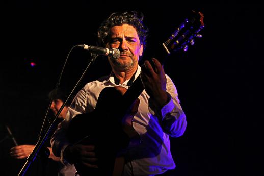 Mellino (des Négresses Vertes) en concert