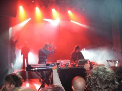 Soirée Valerie: College//Anoraak//Russ Chimes//Minitel Rose en concert