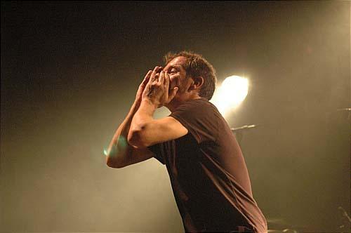 Miossec (festival Avec le Temps 2007) en concert