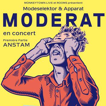 Moderat en concert