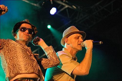 Wampas/Oai Star/Allez les jeunes (Fiesta des Suds 2006) en concert