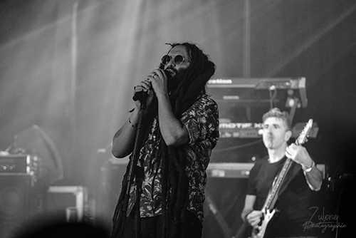 Alborosie + Marcus Gad en concert