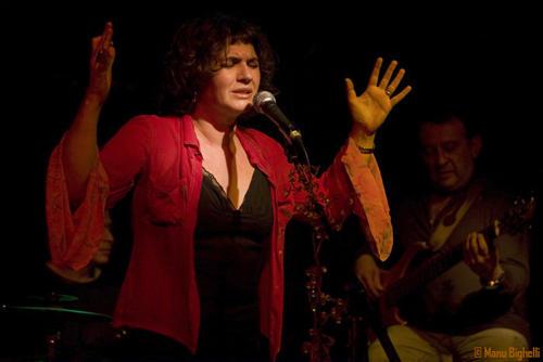 Sylvie Paz en concert