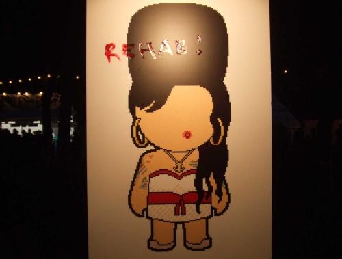 Amy Winehouse (annulation Rock en Seine 2008) en concert