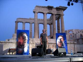 Serge Teyssot Gay + Frédéric Nevchehirlian + Khaled ALJaramani (Nuits Caroline 2005) en concert