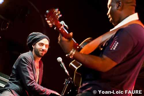 The Touré-Raichel Collective en concert