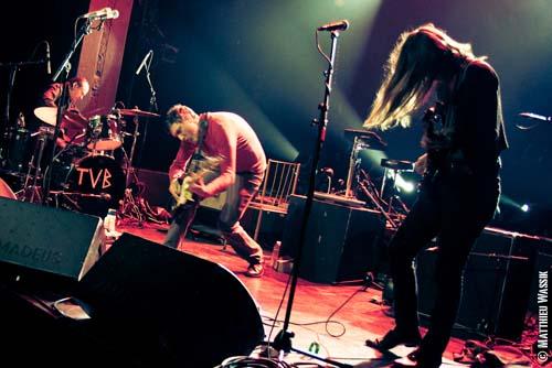Troy Von Balthazar + The Amplifetes en concert