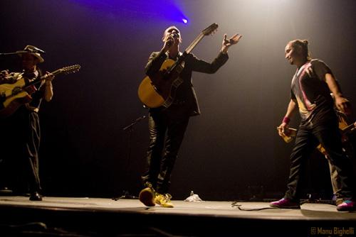 Tryo + Manosanta en concert