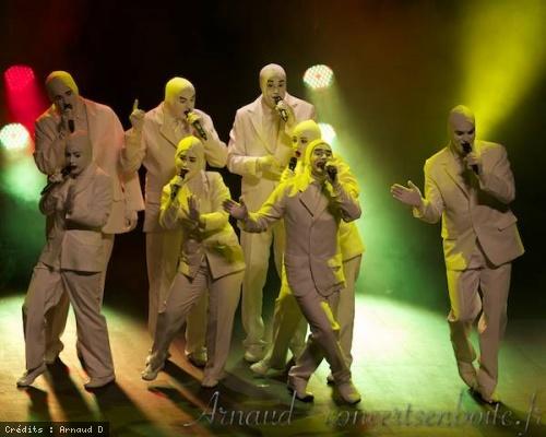 Voca People en concert
