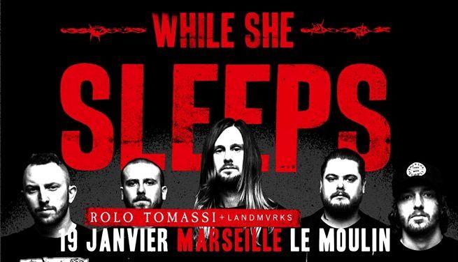 While She Sleeps en concert