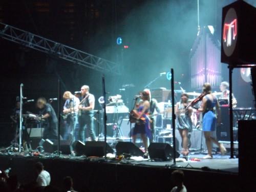 Arctic Monkeys - The Arcade Fire en concert