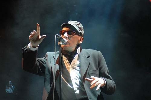 Alain Bashung (Fiesta des Suds 2008) en concert