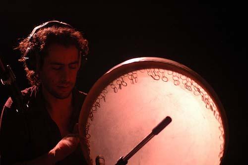 Rodolphe Burger + Sam Karpienia (soirée Multiprises) en concert