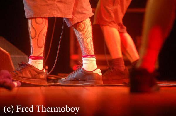 Chavana Fest : Lazybones +  The Real Mc Kenzies + First Part + Burning Heads en concert