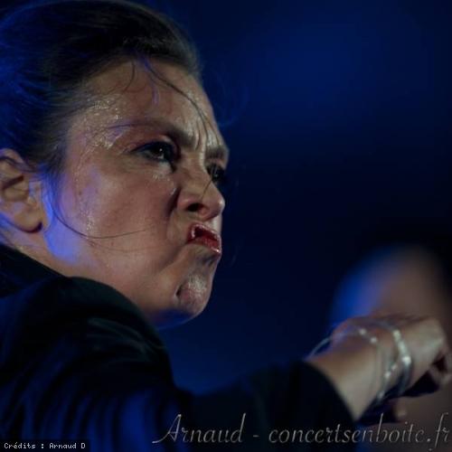 Catherine Ringer +  Lars And The Hands Of Light en concert