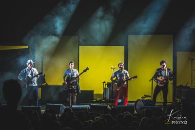 Louis, Anna, Matthieu et Joseph Chédid en concert