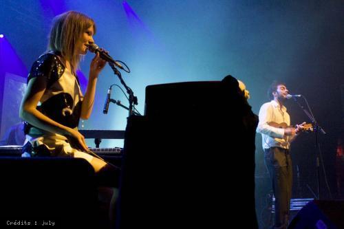 Cocoon + Tricot Machine en concert