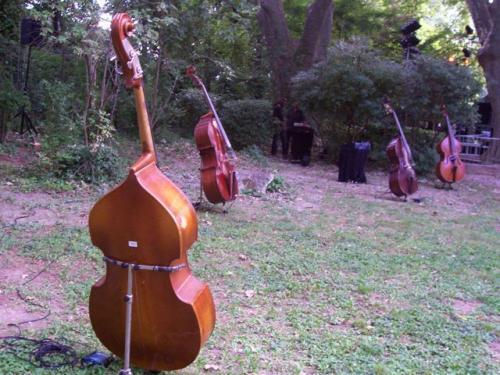 Charlie Jazz Festival Jour 1 : Baptiste Trotignon Quintet + Duo Minvielle / Suarez + Fanfare du Boukistan + Ateliers de Jazz de Charlie Free + Installation de Frank Lovisolo  en concert