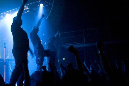 VNV Nation + Rotersand + Nomenklatür en concert