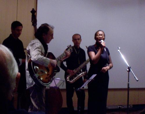 Cécile McLorin Salvant Quartet (+ Conférence Alcajazz + Séminaire) (Festival Jazz Sur La Ville) en concert