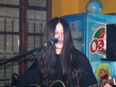 Takèlaïna en concert