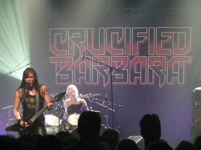 Crucified Barbara + Quireboys + Koritni en concert