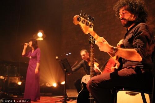 Daphné chante Barbara en concert