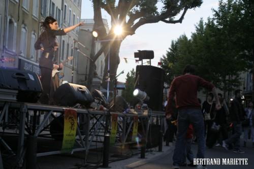 concert pour la fête de la musique 2012 à Annecy, Lyon, Mulhous, Paris et Marseille