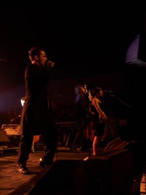 Dionysos (+ Houdini) en concert
