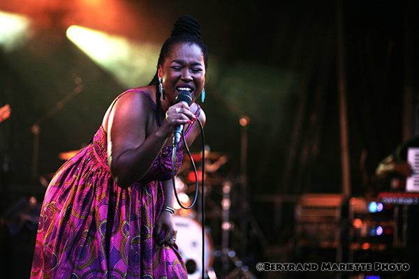 Elida Almeida en concert