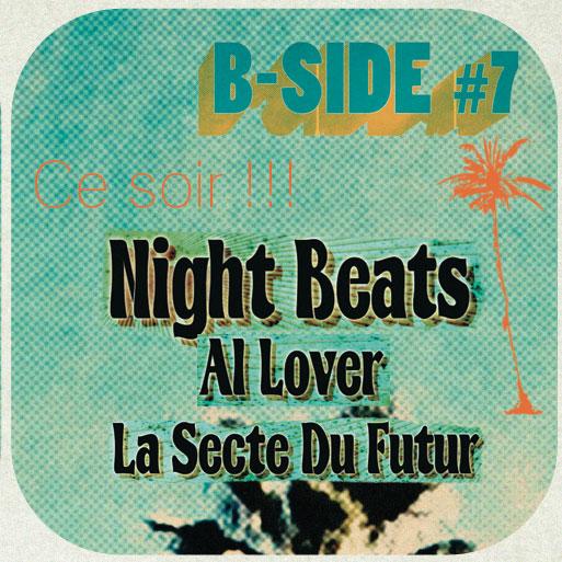 La Secte du Futur + Night Beats (Festival B-Side) en concert