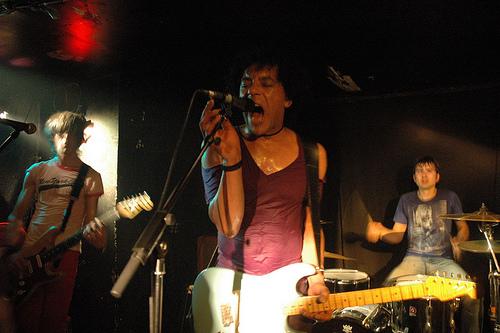 Ivan Julian & Capsula en concert