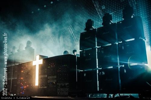 Justice (Festival de Nimes) en concert