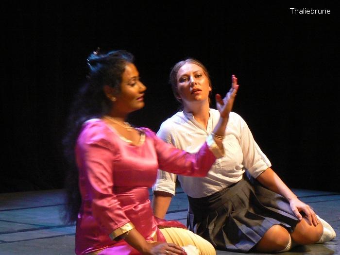 La Rubia & Maitreyee Mahatma : Quand le silence crie en concert