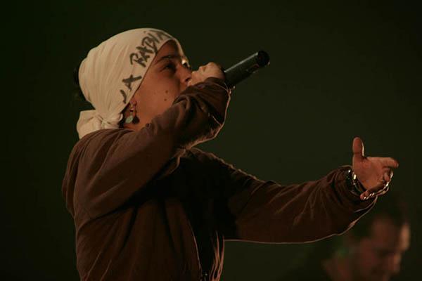Interview de Keny Arkana en concert