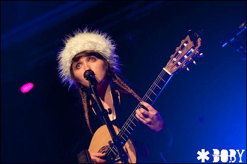Kyrie Kristmanson en concert