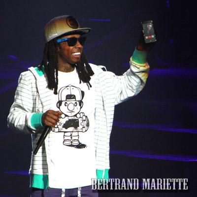 Lil Wayne + Mac Miller en concert