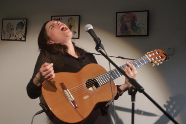 Lily Luca, Karina alias K en concert