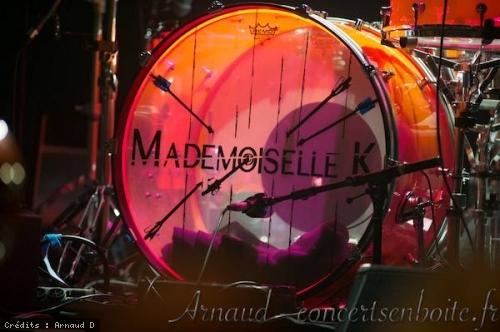 Mademoiselle K + Bye bye Blondie en concert
