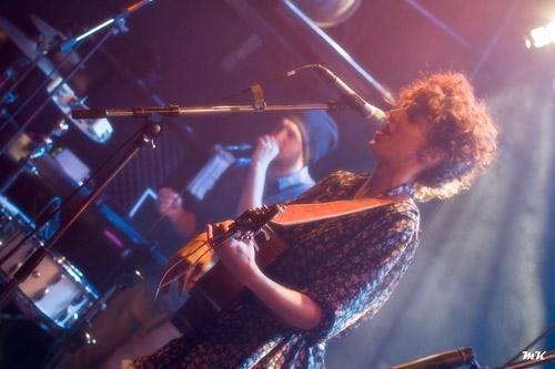 Madjo en concert