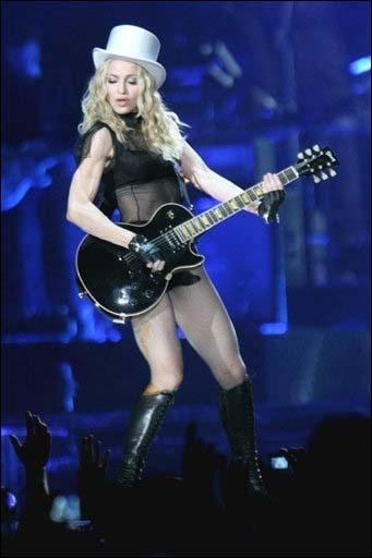 Madonna + Laurent Wolf + Robyn en concert