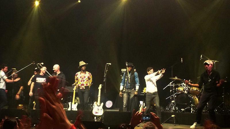Manu Katche, Illona Bolou, Hugo Barriol, Tete, Vianney, Keziah Jones, Hugh Coltman en concert
