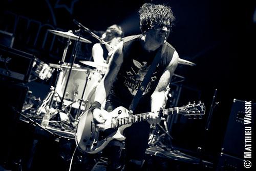 Marky Ramone's Blitzkrieg en concert