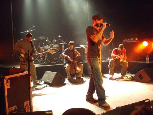 Vibrion en concert