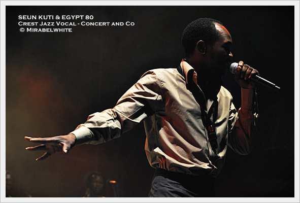Seun Kuti & Egypt 80' en concert